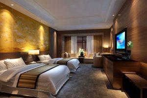 peredam suara hotel