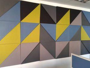 fabric acoustics panel