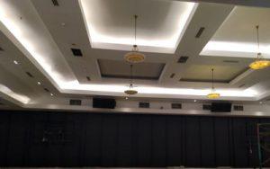 panel peredam suara dan gema ruangan