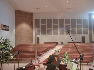 panek akustik peredam gereja